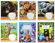 Тетрадь в клеточку: животные, монстрики и прочие пушистики. , Ц262058У, фото