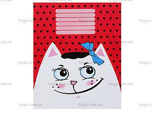 Школьные тетради с котиками, Ц262072У, купить