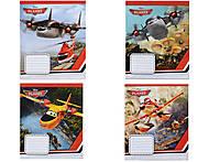 Тетрадь в линию серии «Planes», Ц652002У, купить