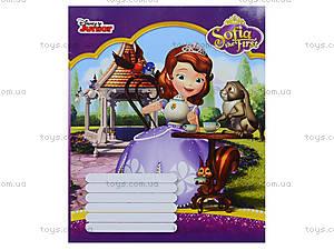 Офсетные тетради с Софией Прекрасной, Ц631002У, детские игрушки