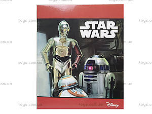 Тетрадка 48 листов серии Star Wars, линия, Ц557017У, цена