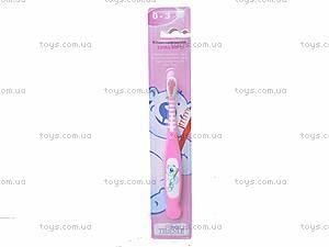 Детская зубная щетка для девочек «Медведь», 20352E, купить