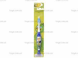 Синяя зубная щетка для мальчика «Рыцарь», 20415E