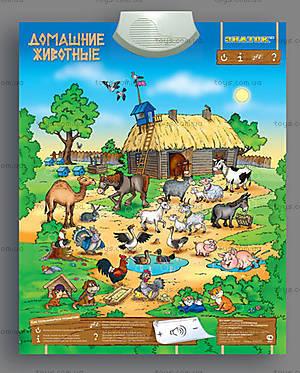 Звуковой плакат «Домашние животные», REW-K042