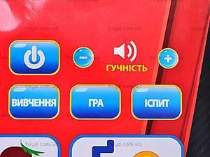 Звуковой плакат «Украинская азбука», 7031-4, купить