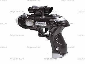 Звуковой светящийся пистолет, 3612A, купить