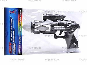 Звуковой светящийся пистолет, 3612A, фото