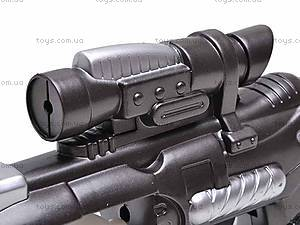 Звуковой светящийся пистолет, 3612A, игрушки